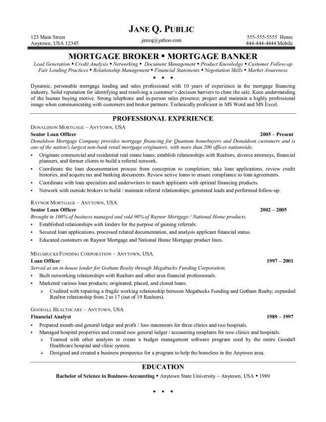 11 Mortgage Loan Processor Resume Sample Resume loan processor ...