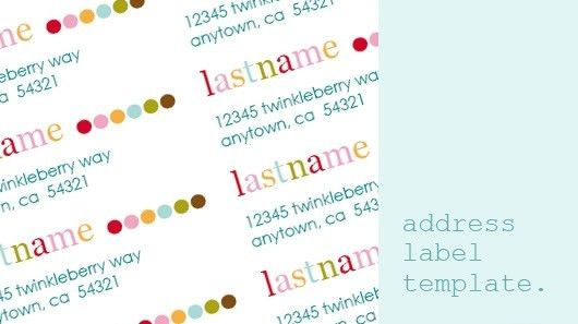 Free Printable Address Labels - gameshacksfree