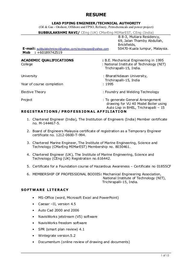 Lead piping engineer-Subbulakshmi 24112016