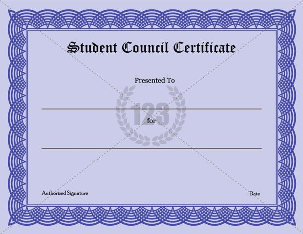 Precious Student Council Certificate Download-123Certificate ...