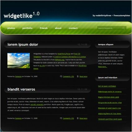 Free website templates for free download about (2,499) Free ...