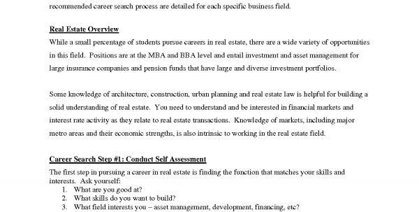 Real Estate Broker Cover Letter Sample Real Estate Agent Resume ...