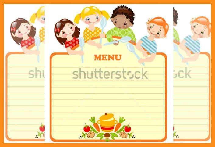 6+ children's menu template | resume setups