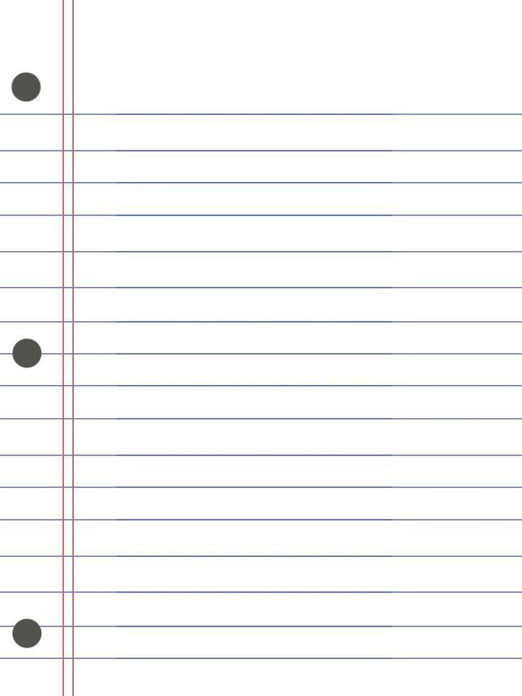 De 88 bästa 0000 Just Plain lined notebook paper-bilderna på Pinterest