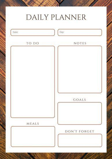 Planner Templates - Canva