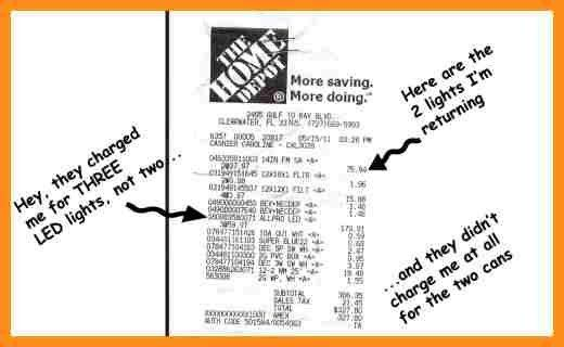 4+ home depot receipt template | parts of resume