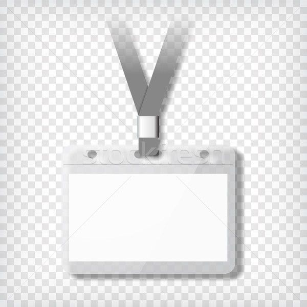 Name badge template vector illustration © pakete (#7199784 ...