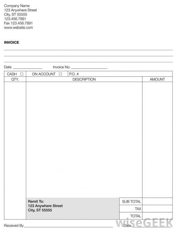What are the Different Types of Invoice Paper? (with picture)