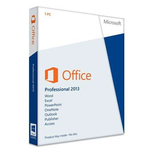 Microsoft Office Professional 2013 - 1 PC - Card - Walmart.com