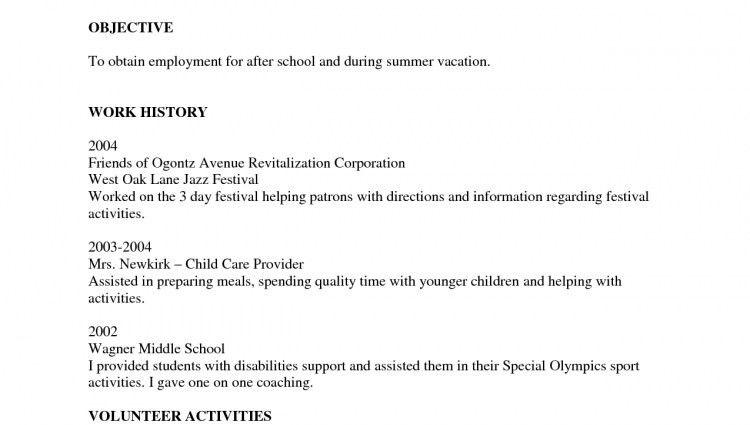 blank printable resume