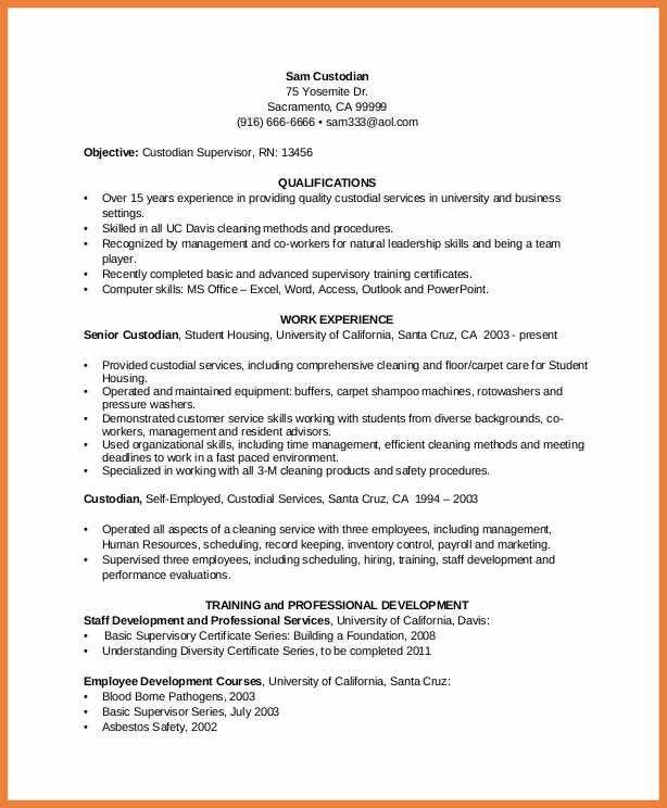 custodian resume examples custodian resumeexamples samples free
