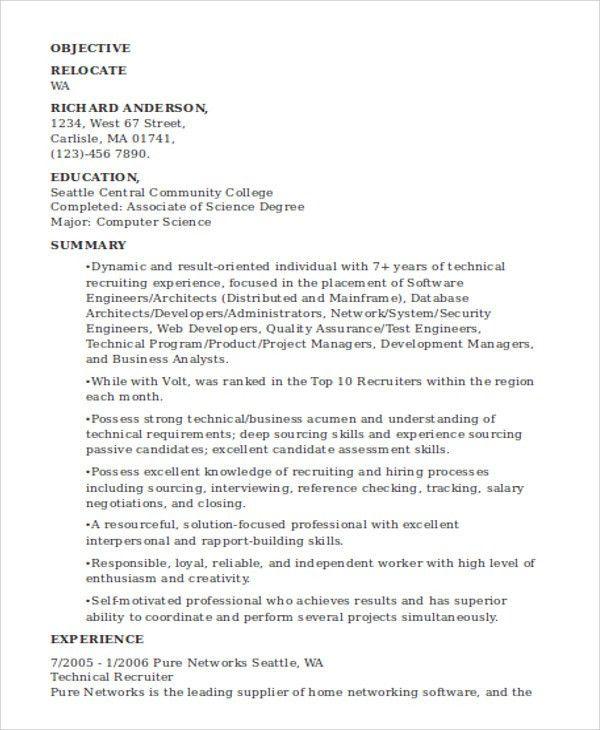 24+ Best IT Resume Templates | Free & Premium Templates