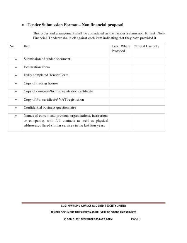 GUSII MWALIMU SACCO TENDER DOCUMENTS 2015_2016