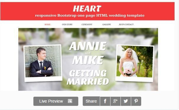 20 Best Wedding Website Templates – BlogofTheWorld
