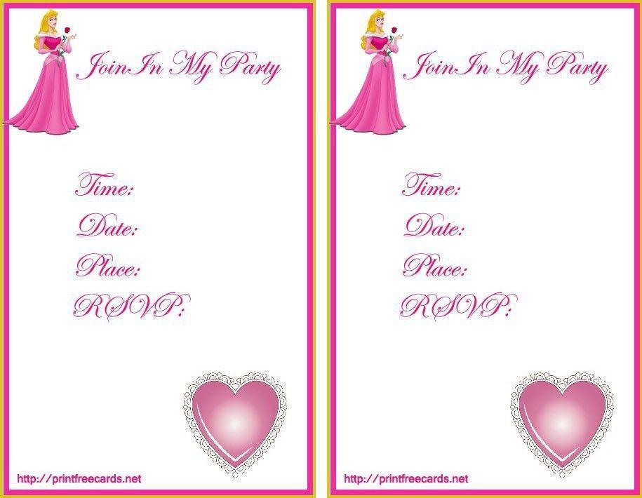 Free Printable Birthday Invitation Templates - dhavalthakur.Com