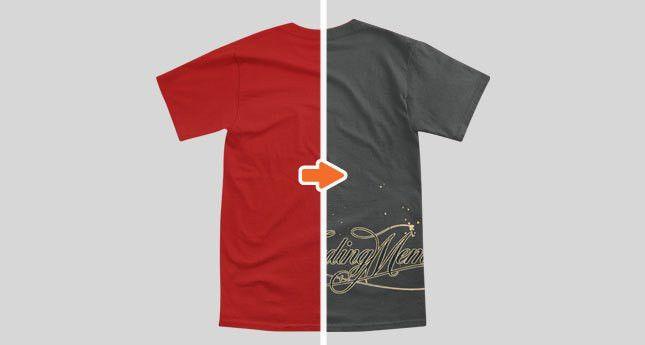 Men's Pocket T-Shirt Mockup Template Pack