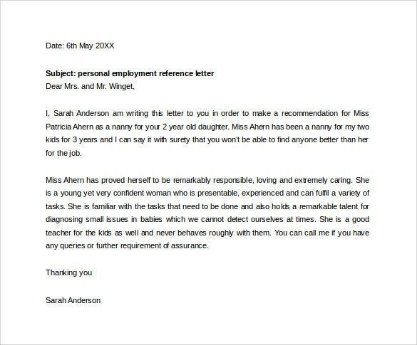 employment letter pdf