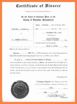 Divorce Decree Template] Best 25 Divorce Forms Ideas On Pinterest ...