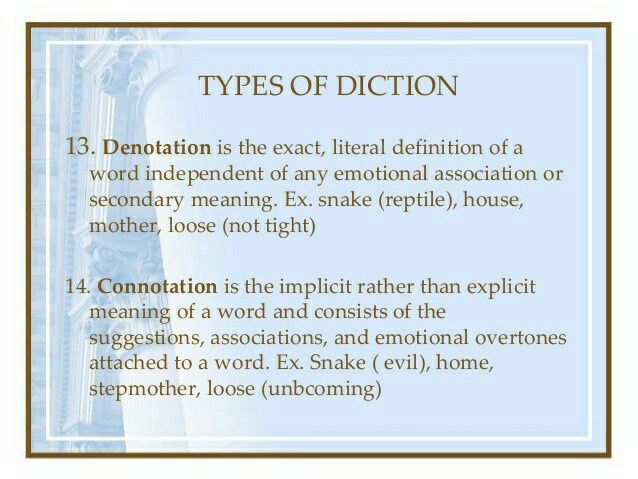 Types of Diction. | Literary Devices | Pinterest