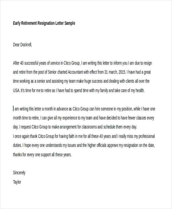 27+ Resignation Letter Templates and Examples | Free & Premium ...