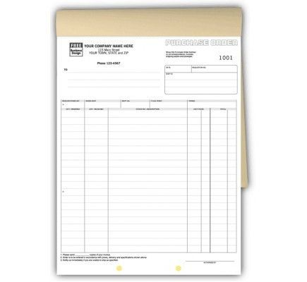 Long Purchase Order Books 92B The ideal purchase order form needs ...