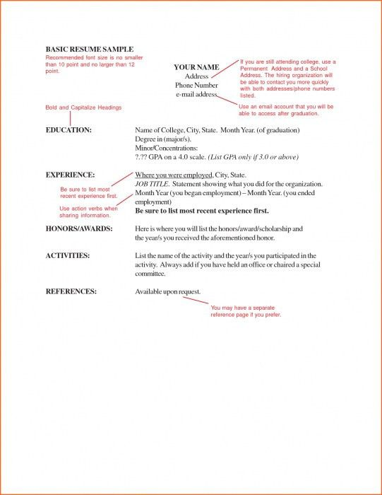 The Incredible Font Size For Resume | Resume Format Web