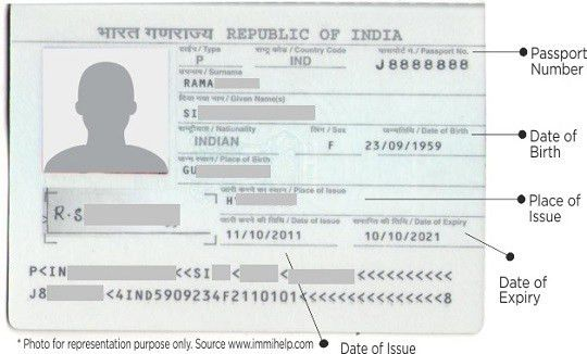 Indian Passport, Visa and Visa for USA,Singapore,Thailand,Dubai