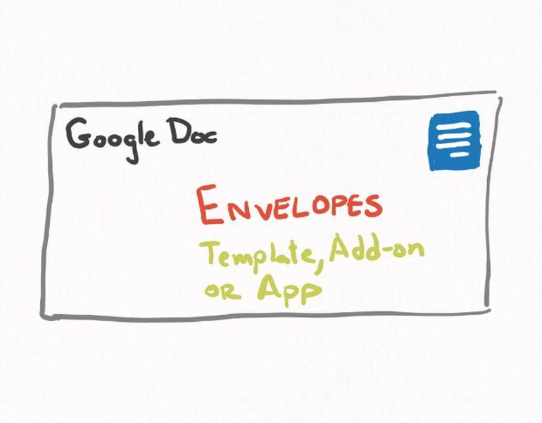 How to create an envelope in Google Docs - TechRepublic