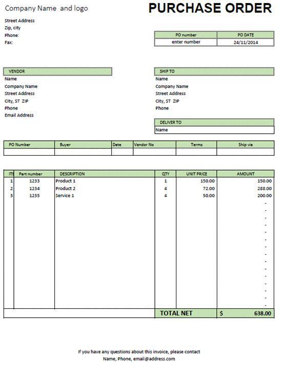 19 best Business Document images on Pinterest | Invoice template ...