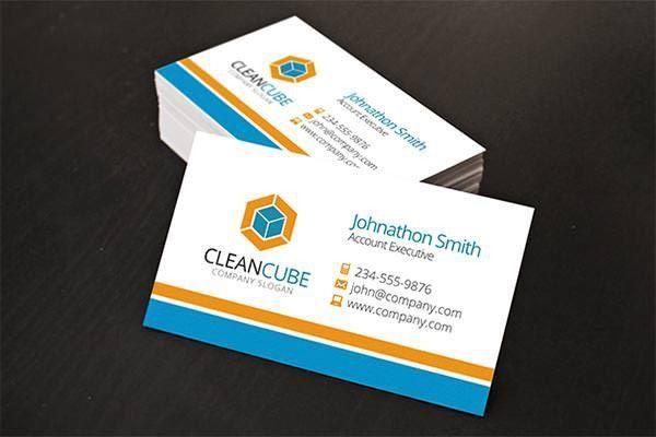52 Best Corporate Business Card Templates | Free & Premium Templates