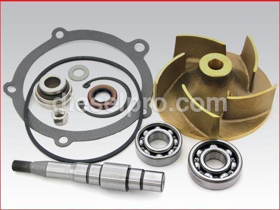 Water Pump Repair Kit For Detroit Diesel V71 V92   DP 5197158 ...