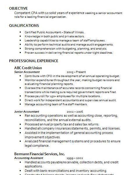 Accountant Resume | haadyaooverbayresort.com