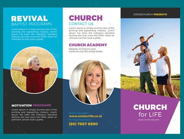 10 Popular Church Brochure Templates & Design – Free PSD, JPEG ...