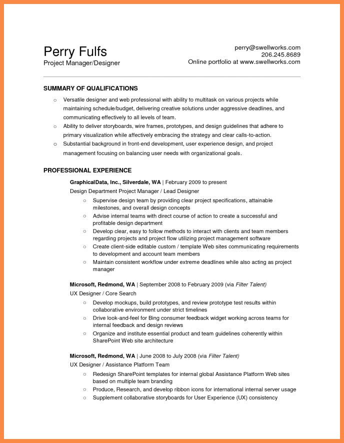 microsoft office resume | resume name