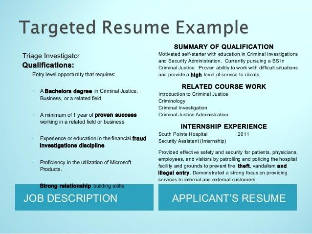 Resumes for College Students by J. Gholson