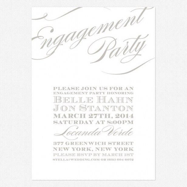 Free Printable Engagement Party Invitations For You | THEWHIPPER.COM