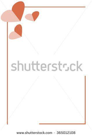 Vector Blank Letter Greeting Card White Stock Vector 363657329 ...