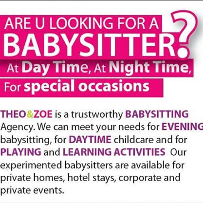 15 Cool Babysitting Flyers - Printaholic.com