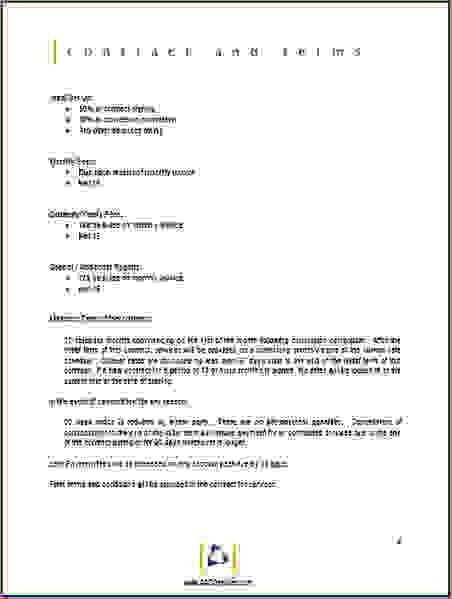 6+ sample proposal format | Procedure Template Sample