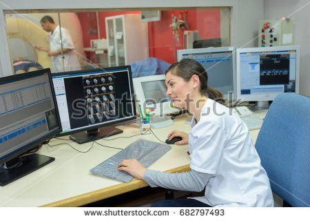 Mechanical Industrial Worker Milling Machine Center Stock Photo ...