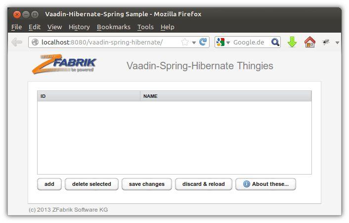 Sample-vaadin-spring-hibernate - z2-environment - z2-Environment