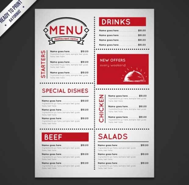 26+ Free Restaurant Menu Templates To Download