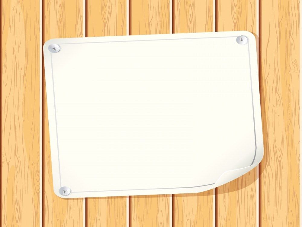 Paper Wood PPT Backgrounds - Educational Templates - PPT Grounds