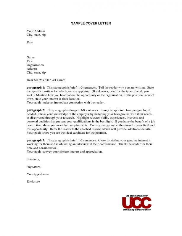 Cover Letter No Name | Experience Resumes