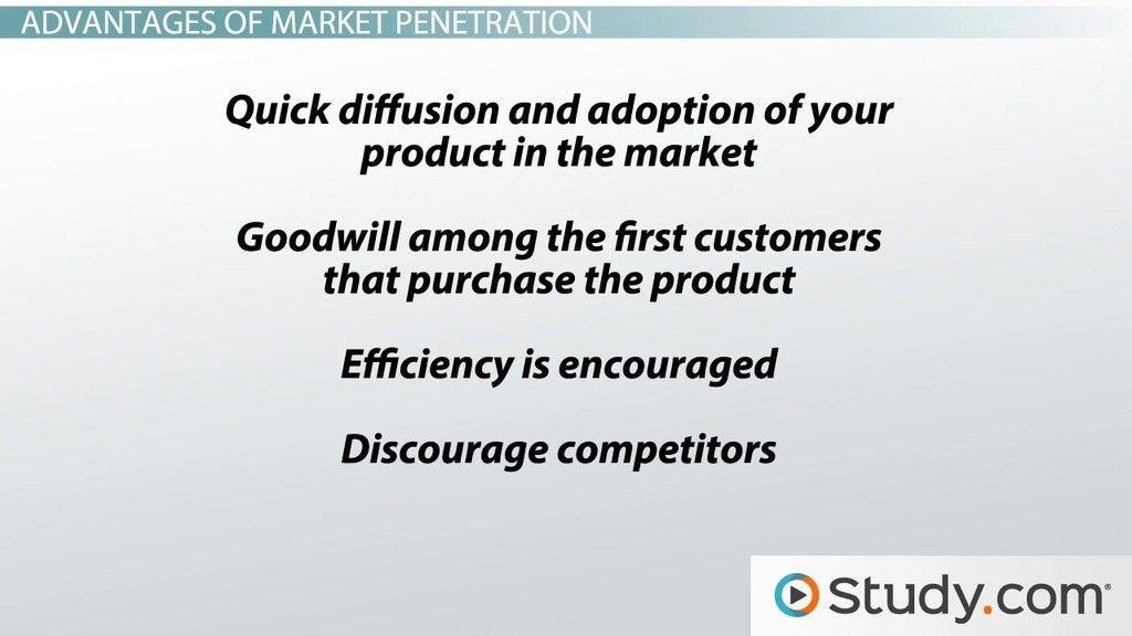 Market Penetration: Examples, Definition, Advantages ...