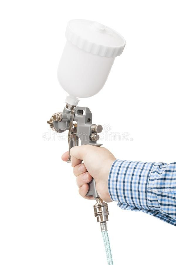 Industrial Size Spray Gun Used For Industrial Painting And Coating ...