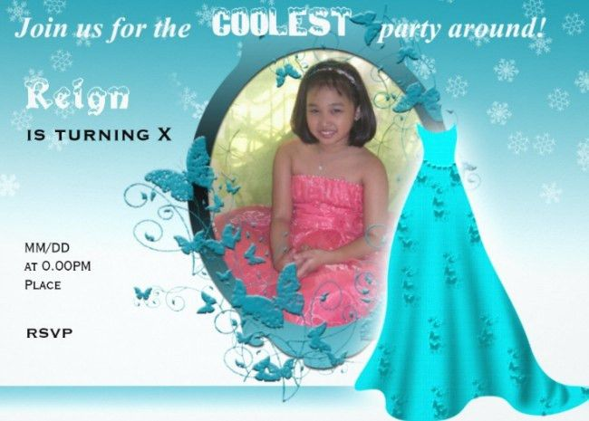 Frozen Birthday Invitation – gangcraft.net