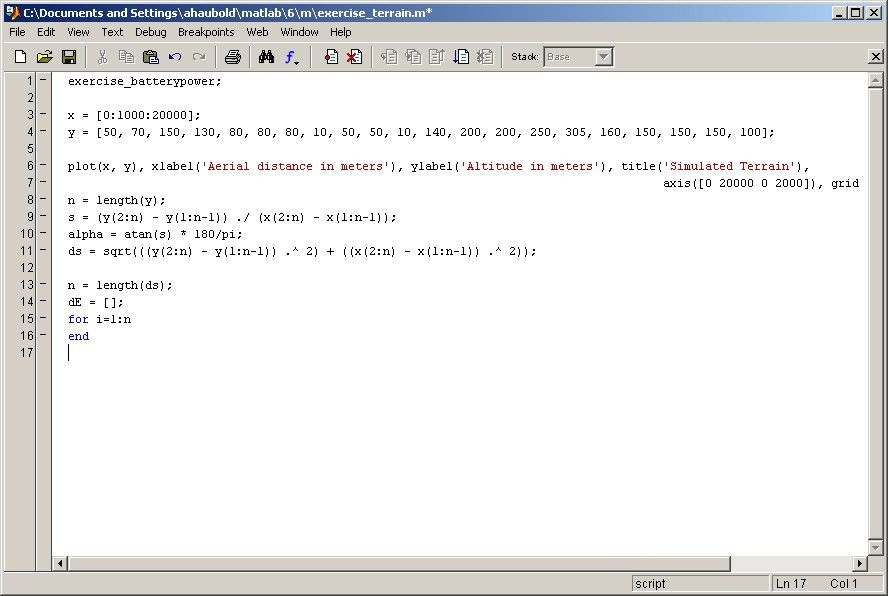 Matlab Lecture 7