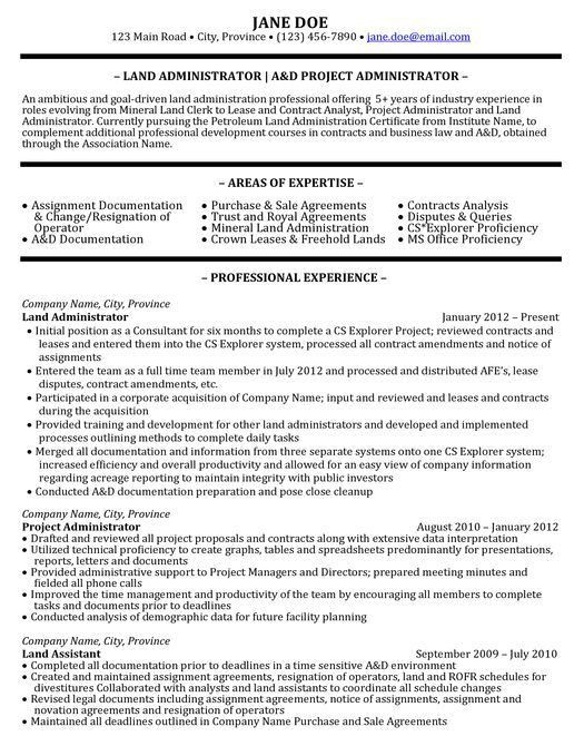 it project administrator sample resume 16 best best project