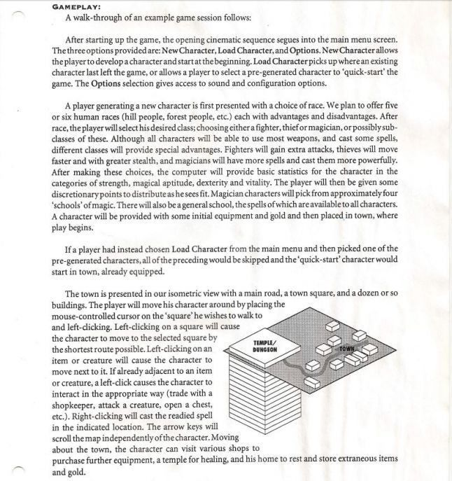 Gamasutra - Here's a look at the original design pitch